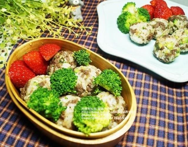 브로콜리주먹밥