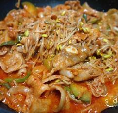 백주부 콩나물불고기(콩불) 만들기