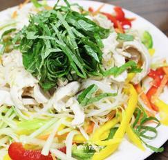 야채듬뿍 닭가슴살냉채&초계탕 : 새댁을 위한 K.EY 레시피