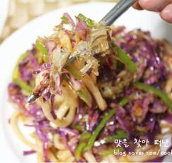 중국식 야채볶음우동 만들기