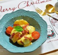 치즈감자 체다치즈소스 만들기 크리스마스 간식