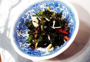 #초스피드 다이어트음식 해초샐러드만들기 #각종 채소들을 추가해서 만드는 상큼하고 바다향나는 해초샐러드~~