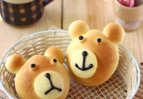 곰돌이 모닝빵 만들기