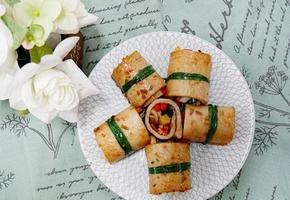 이색요리, 어묵야채말이 만드는 법 !