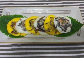 고사리나물로 계란부침 만드세요^^