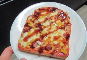 초간단 식빵으로 피자빵 만들기