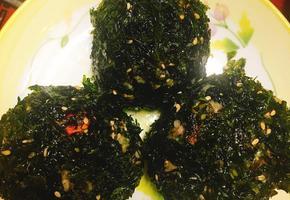 [초간단 주먹밥] 볶음너구리 주먹밥 만들기