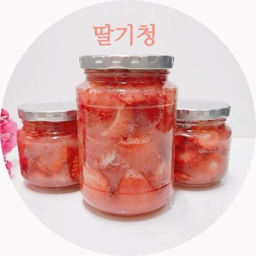 딸기청 만드는법, 황금비율로 달콤하게 만들기 <