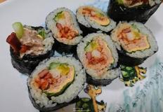 나들이 갈때 맛있고 특별하게 참치치즈진미채김밥 만들어가세요:)