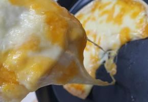 초초간단 치즈 듬뿍 피자~*