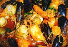 얼린 해물과 가래떡으로 맛난 해물떡찜 만들기!!