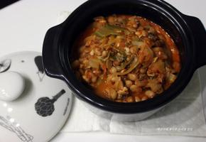 집밥 백선생 백종원 청국장 끓이기. 보리밥과 청국장.
