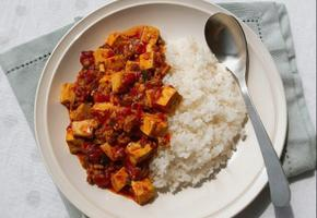 마파두부 덮밥 두부요리