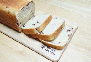 우유팩으로 크랜베리식빵 만들기