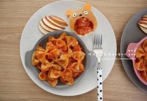 토마토스파게티 - 소시지 파스타