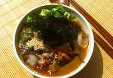 도토리 묵밥 묵사발 다이어트 식품
