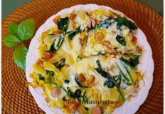 달걀프리타타...브런치,캠핑아침식사로 좋아요.^^