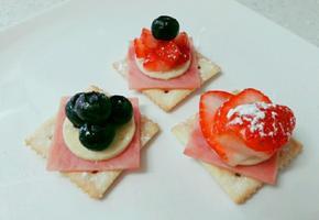 딸기카나페 홈파티 핑거푸드!!