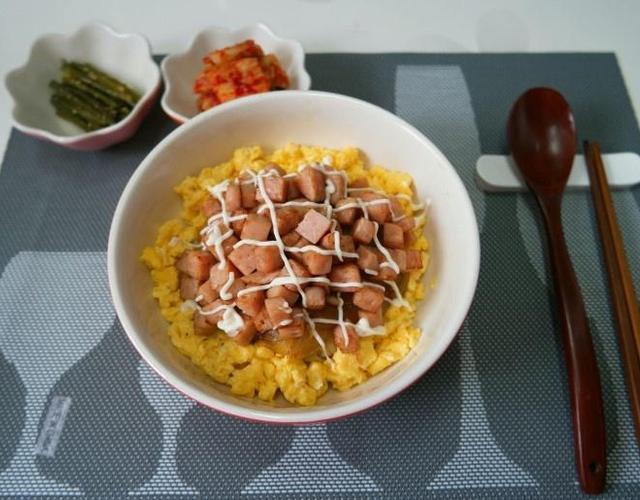스팸마요덮밥 만들기, 간단한 한그릇 요리!