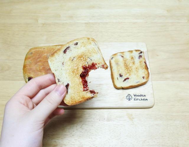 크랜베리식빵