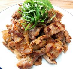 돼지 불고기 바싹하게 굽기 인기메뉴
