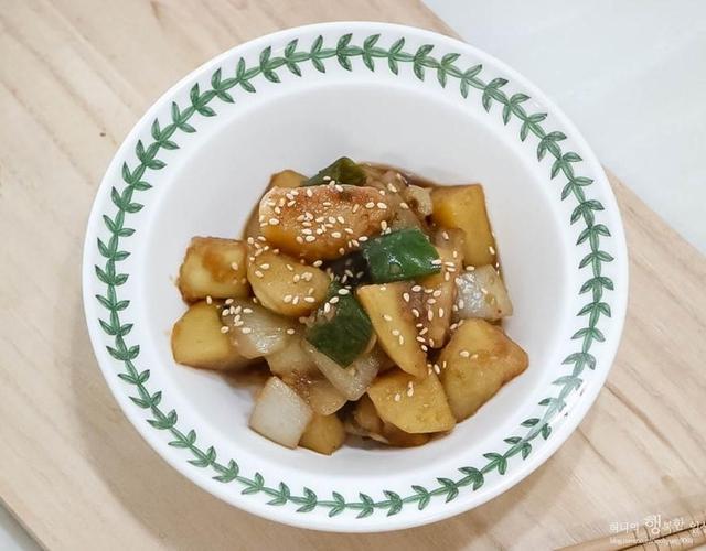감자양파조림