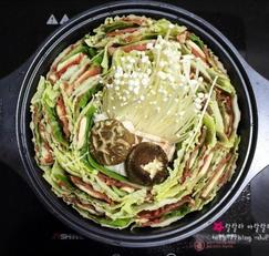 (집에서 즐기는 술안주) 밀푀유 나베 - 홈파티 음식