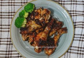 닭다리 간장조림, 데리야키소스로 만든 닭다리요리