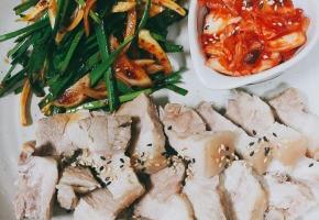 인기메뉴 돼지고기 수육 ,, 보쌈고기 맛있게 삶는 법 황금레시피~!