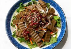 도토리묵 무침 / 채소 샐러드 쉬운레시피