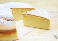 슬라이스치즈로 수플레 치즈케이크 만들기