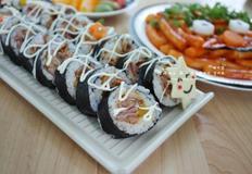 베이컨김밥 - 간단한 김밥재료