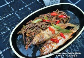 고사리 생선조림 고사리 굴비조림 고사리요리 맛있어요