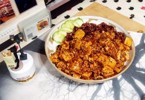 #마파두부소스를 이용해서 간편하게 정통 마파두부만들기 #다짐육과 동두부를 넣고 만드는 마파두부~~ 덮밥으로 최고!!