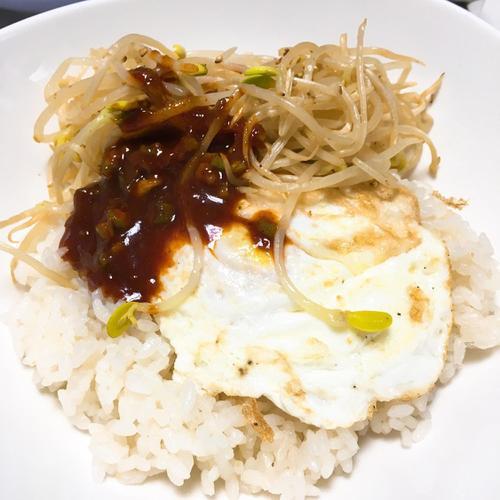초간단 콩나물 비빔밥