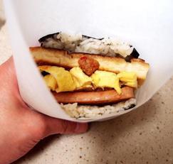 #오키나와 주먹밥따라하기 #아부라미소 오니기니 응용한 스팸주먹밥과 두부된장주먹밥!! 포장까지해서 소풍가자!!