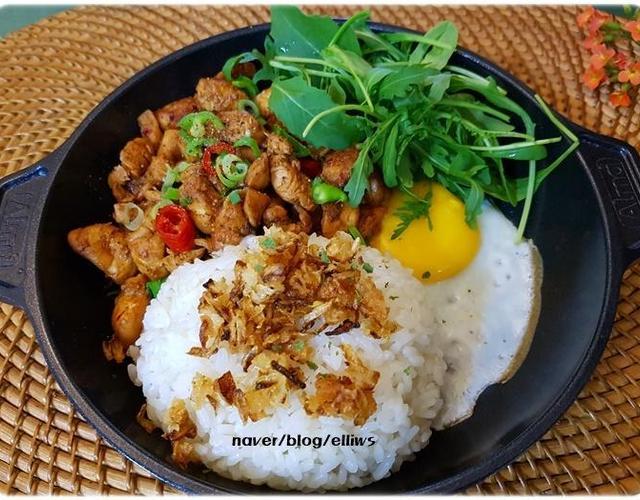 닭고기덮밥
