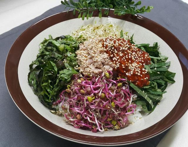 참치비빔밥
