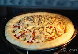 집에서 피자만들기, 피자 도우 만드는 법 홈베이킹
