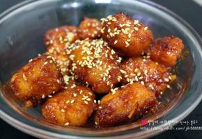 남은 치킨으로 만드는 치킨강장 / 닭강정