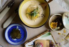 여름철 콩국수를 대체할 m.p.c(milk,potato,cheese)냉파스타