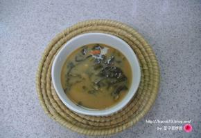 아욱국 맛있게 끓이는법