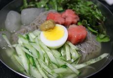 CJ프레시안 평안도식 동치미 물냉면 /비빔냉면/토마토/오이/계란/배
