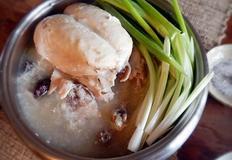 압력솥으로 만드는 닭백숙 & 닭죽