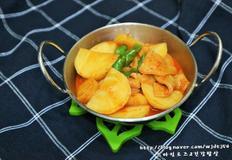감자조림 칼칼하고 맛있는 어묵감자조림