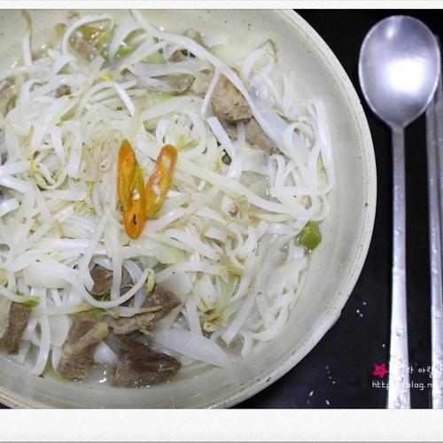 쌀국수 - 한국식 간단 쌀국수 만들기