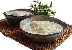 영양이 듬뿍 초간단 콩국수 만드는 법