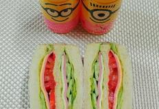 소풍갈때 필수품 도시락~초간단 샌드위치