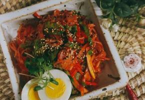 인기메뉴 김치비빔국수 황금레시피 ,, 별미 쌀국수 요리
