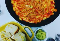 레토르트 토마토소스로 맛있는 스파게티 만들기